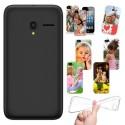 Cover Personalizzate Alcatel Pixi 3 4.0 con foto