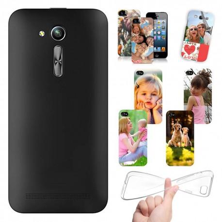 Cover Personalizzate Asus Zenfone Go 4,5 pollici ZB452KG con foto