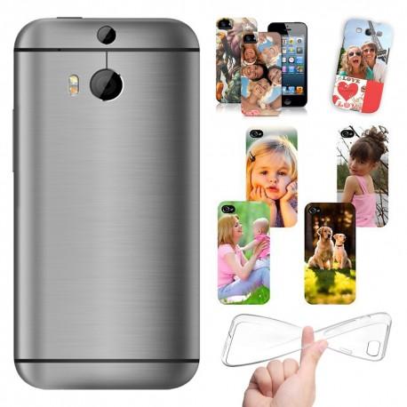 Cover personalizzate HTC ONE M8 con foto