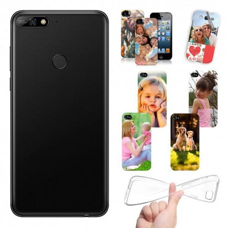 Cover Personalizzate Huawei Y7 Prime 2018 con foto