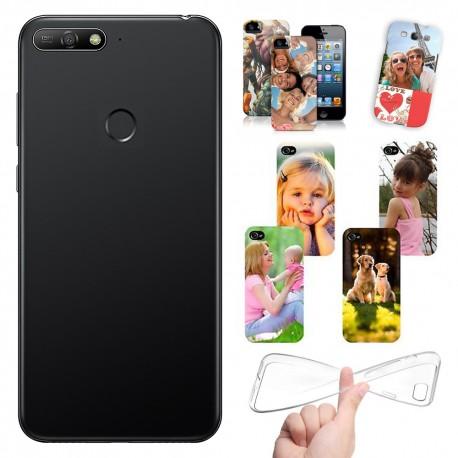 Cover Personalizzate Huawei Y6 Prime 2018 con foto