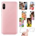 Cover Personalizzate Xiaomi Redmi Mi A2 Lite con foto