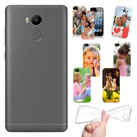 Cover personalizzata Xiaomi Redmi 4 Pro con foto