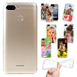 Cover personalizzata Xiaomi Redmi 6 con foto