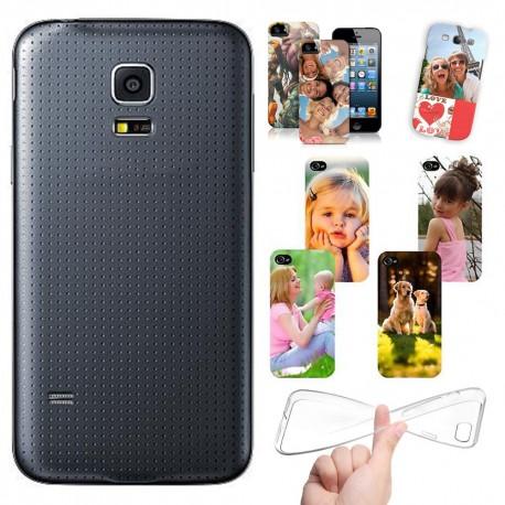 Cover personalizzate SAMSUNG S5 MINI G800 con foto