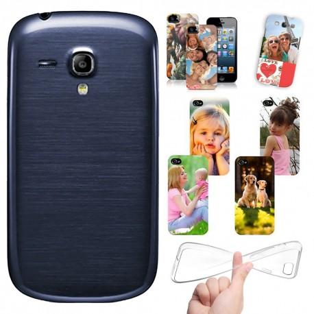 Cover personalizzate SAMSUNG GALAXY S3 mini i8190 con foto