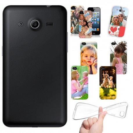 Cover Personalizzate Samsung Core 2 g355 - Core 2 duos g355h con foto