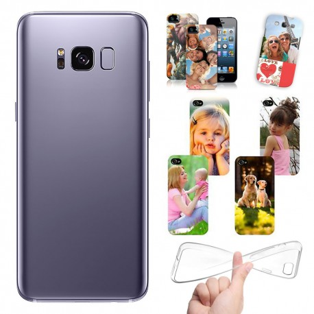 Cover Personalizzate Samsung S8 Plus con foto