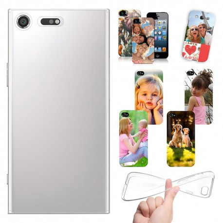 Cover Personalizzate Sony XPERIA XZ Premium con foto