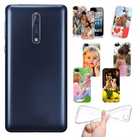 Cover Personalizzate Nokia 8 con foto