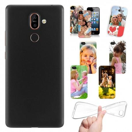 Cover Personalizzate Nokia 7 Plus con foto