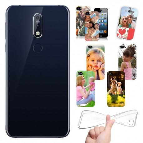 Cover personalizzate Nokia 7.1 con foto