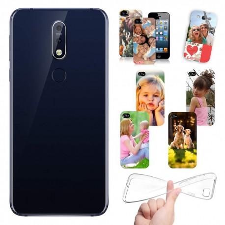 Cover personalizzate Nokia 7.1 Plus con foto