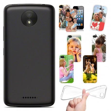 Cover Personalizzate Motorola Moto C Plus con foto