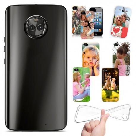 Cover Personalizzate Motorola Moto G6 Plus con foto