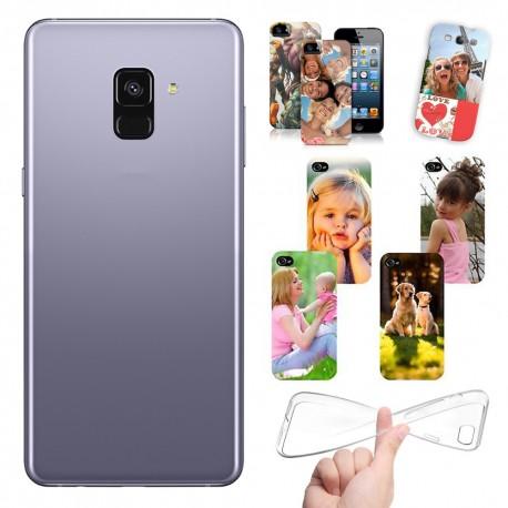 Cover Samsung A8 Plus 2018 personalizzate con foto