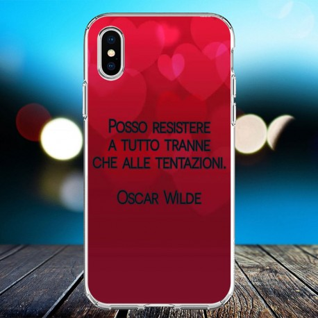 Cover personalizzata con frasi Oscar Wilde frase 3