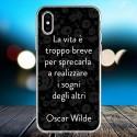 Cover personalizzata con frasi Oscar Wilde frase 4