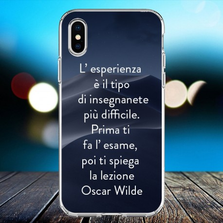 Cover personalizzata con frasi  Oscar Wilde frase 5