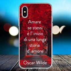 Cover personalizzata con frasi  Oscar Wilde frase 6
