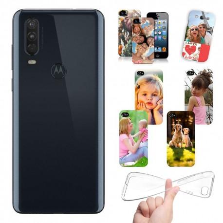 Cover Motorola Moto One Action personalizzate con foto