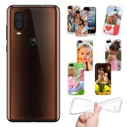 Cover Motorola Moto P40 personalizzate con foto