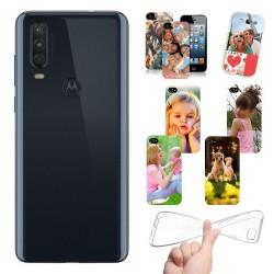 Cover Motorola Moto P40 Power personalizzate con foto