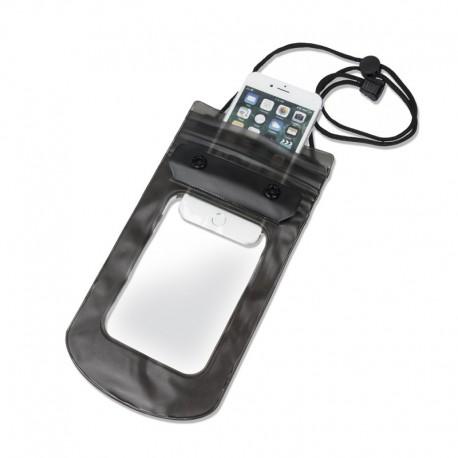 Cover impermeabile antipolvere per cellulari fino a 6 pollici subacquea per mare spiaggia BLU