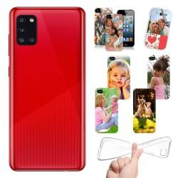 Cover Samsung Galaxy A31 A315 personalizzata con foto
