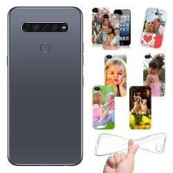 Cover LG K61 personalizzate con foto