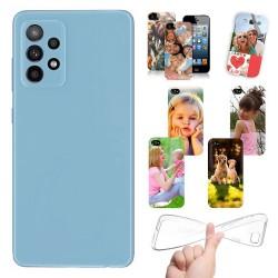 Cover personalizzate per Samsung Galaxy A52 A525 A526 personalizzabile con foto e testo