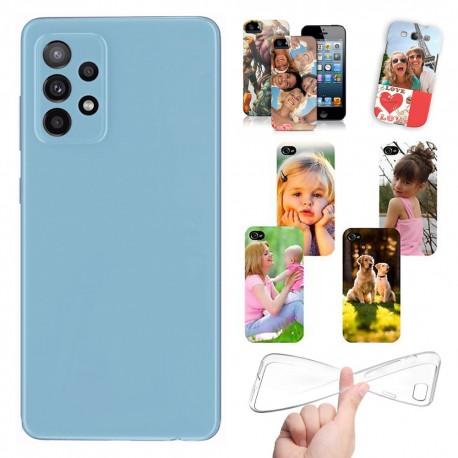 Cover personalizzate per Samsung Galaxy A52 A52s A525 A526 A528 personalizzabile con foto e testo