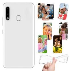 Cover personalizzate per Samsung Galaxy A70e personalizzabile con foto e testo