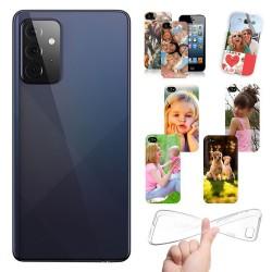 Cover personalizzate per Samsung Galaxy A72 A725 A726 personalizzabile con foto e testo
