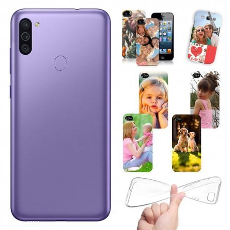 Cover personalizzate per Samsung Galaxy M11 M115 personalizzabile con foto e testo