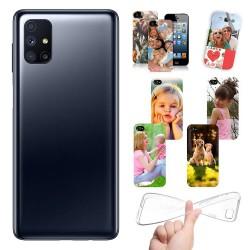 Cover personalizzate per Samsung Galaxy M51 M515  personalizzabile con foto e testo