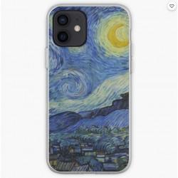 Cover per cellulare quadro Van Gogh notte stellata