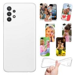 Cover personalizzate per Samsung Galaxy A32 5G A326 personalizzabile con foto e testo