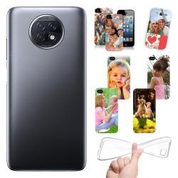 Cover personalizzate per Xiaomi Redmi Note 9T 5G personalizzabile con foto e testo