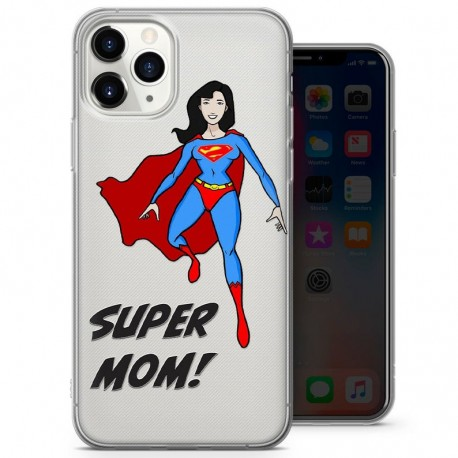 Cover per cellullare personalizzata festa della mamma Super Mom 5