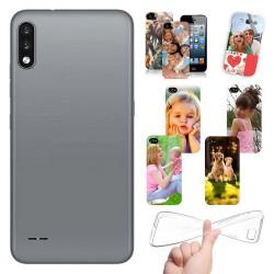 Cover personalizzate per LG K22 personalizzabile con foto e testo