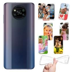 Cover personalizzate per Xiaomi Poco X3 NFC - X3 Pro personalizzabile con foto e testo