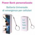 Power Bank PERSONALIZZATO 2600 mah  Caricatterie esterno