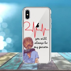 Cover Personalizzata You will always be my person Meredith